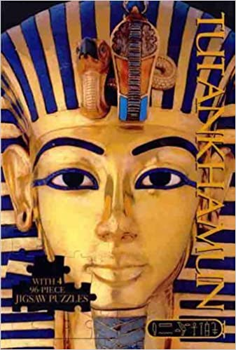 Tutankhamun Deluxe Jigsaw (Deluxe Jigsaw Book): Niki Horin, Julie Thompson: 9781741247046: Amazon.com: Books