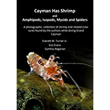 Cayman Has Shrimp and Amphipods, Isopods, Mysids and Spiders: A photographic collection of shrimp and related creatures found by the authors while diving Grand Cayman (Cayman Underwater Book 4)