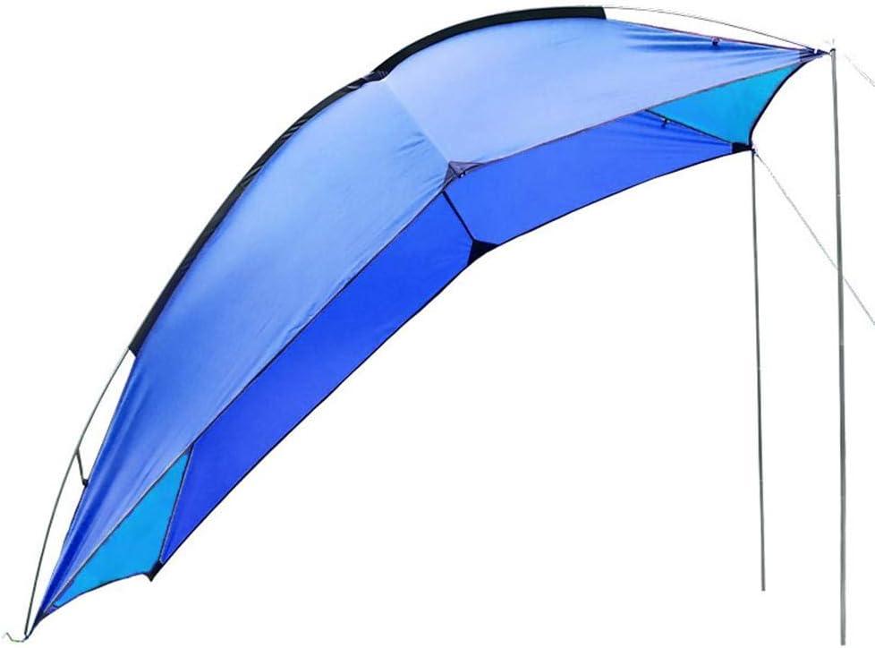 1 Stange Wasserdicht Camping Zelt Schatten Zelt Auto F/ür Strand Destinely Auto Markise Sonnensegel Outdoor Tragbares Reisemobilzelt Mit 8 Windseile 8 Bodenn/ägel MPV SUV