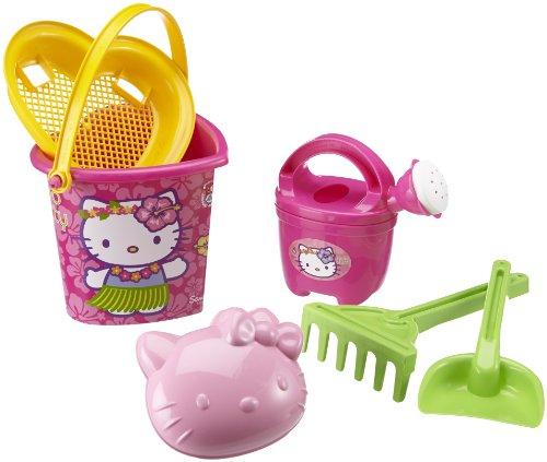 Simba-Smoby Hello Kitty Heart Shape 19cm Bucket Set ()