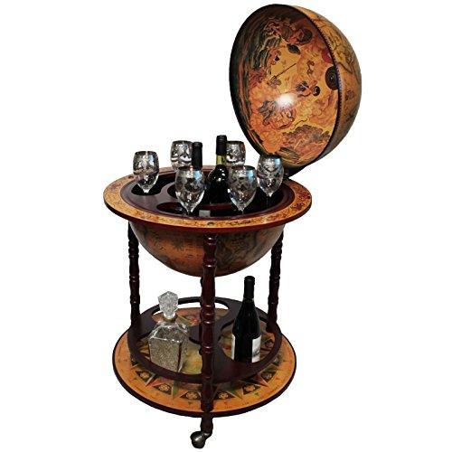 Urban Designs Antique Reproduction 16th Century Italian Old World Globe Bar by Urban Designs (Image #1)