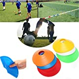 ShopSquare64 10 PCS Football Training Speed Disc Cone Cross Roadblocks