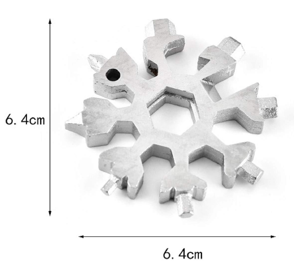 gris, negro herramienta multifunci/ón 12 en 1 herramienta de bolsillo de acero inoxidable multiusos Herramienta multifunci/ón 18 en 1