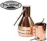 2.5 Gallon Copper Moonshine Still and Worm by North Georgia Still Company
