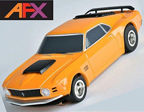 AFX Ford Mustang Boss 429 HO Slot Car Mega G+ MegaG+ Tomy Autoworld (Ho Slot Car Chassis)