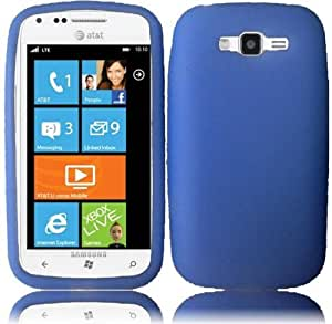 Samsung Focus 2 i667 Silicone Skin Cover - Blue