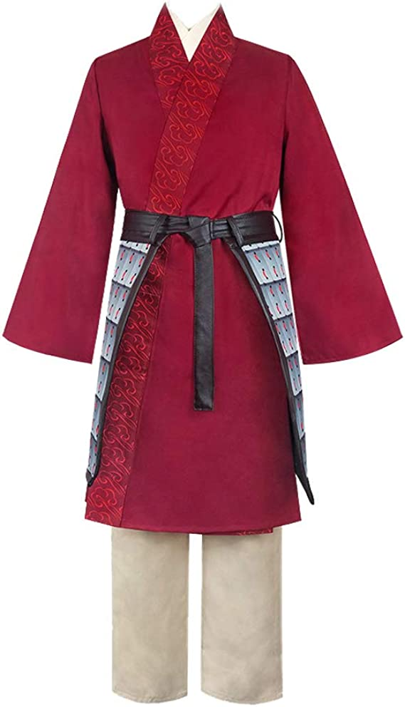 Disfraz de heroína China clásica de Hanfu de Mulan para Cosplay ...
