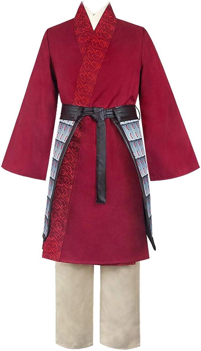 Tanwenling33 Disfraz De Mulan Mujer Niña Disfraz de Princesa Mulan ...