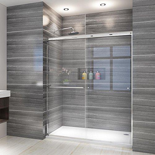 1 Glass Shower Door - ELEGANT SHOWERS 58.5-60