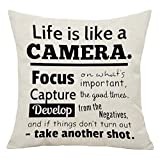 I love music ready rock cotton Linen Square Throw Waist Pillow Case Decorative Cushion Cover Pillowcase Sofa 18'x 18' (1)