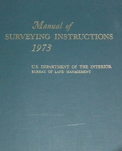 The manual of surveying instructions, the plss datum, and the.