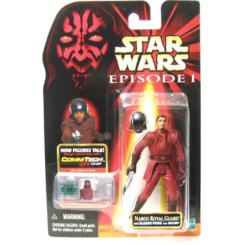 Star Wars Naboo Royal Guard w/Blaster Pistol and ()