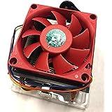 AMD Cooler with Aluminum Heatsink & Copper Heatpipes & 2.75-Inch Fan 4-Pin Connector CPU up to 95W FM2+ / FM2 / FM1 / AM3+ / AM3 / AM2+ / AM2 / 1207/940 / 939 / 754For Desktop PC Computer (AVC)