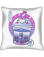 Boba Wave Tea Cushion