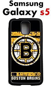 Boston Bruins Samsung Galaxy s5 Case Hard Silicone Case by runtopwell