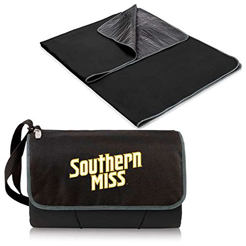 (NCAA Southern Mississippi Golden Eagles Outdoor Picnic Blanket Tote)