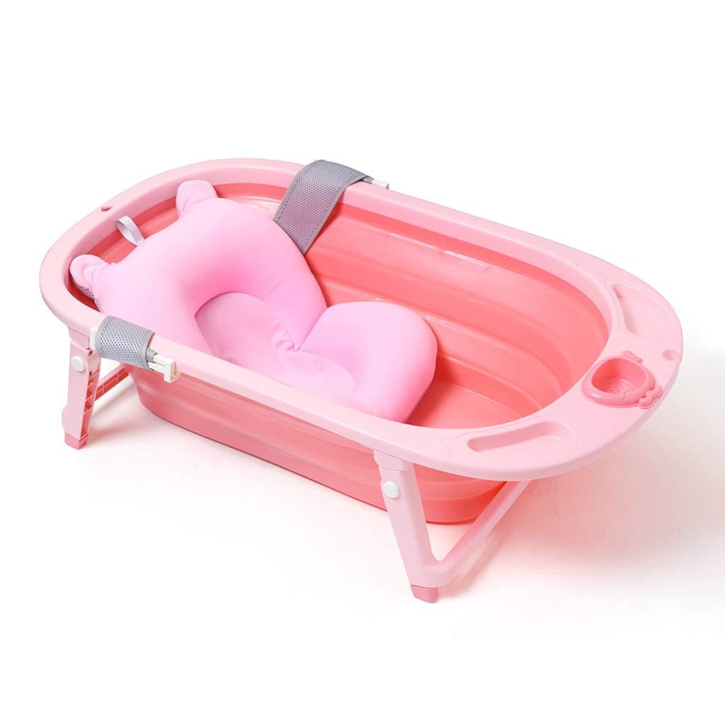 WANGXIAOLINyg 折りたたみ浴槽、環境保護、子供用折りたたみ浴槽、滑り止め、ベビーバスタブ、83.5×47.5×23cm、家庭用折りたたみ浴槽、ロック温度(3色) (色 : Color3)  Color3 B01KJYJ8DG