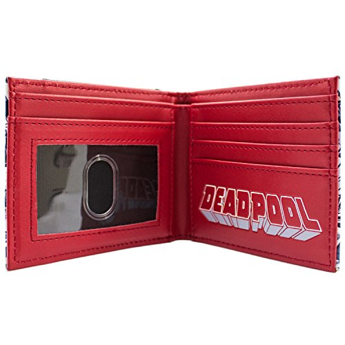 Marvel Deadpool Antiheld geeignet Rot Portemonnaie Geldbörse