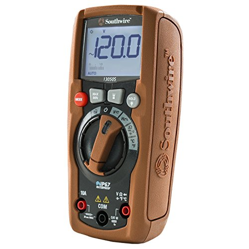 - Southwire Tools & Equipment 13050S ResidentialPRO Auto Range Multimeter