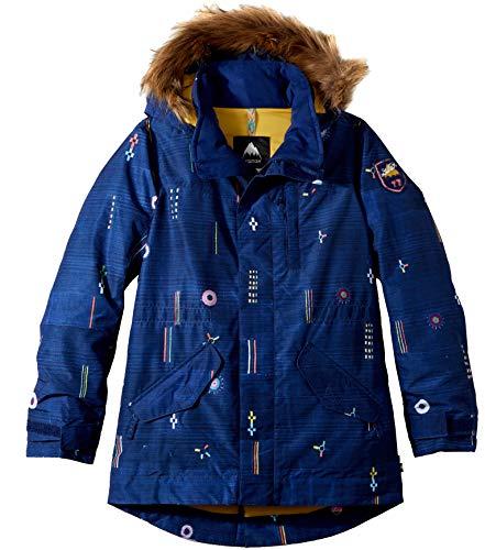 (Burton Girls Aubrey Parka Jacket, Camp Craft,)