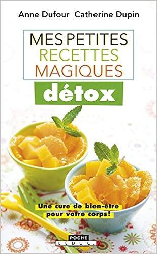 Mes petites recettes magiques détox sur Bookys