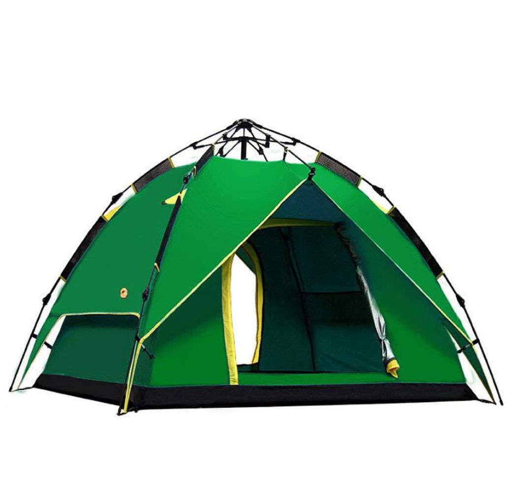 FEIYUESS Automatische Outdoor 3-4 100% Zelt Festival Zelt, große Kuppelzelt 100% 3-4 Wasserdichte Familie Camping Zelt Angeln Camping Regen Zelt (Farbe   Blau) 41b2bd