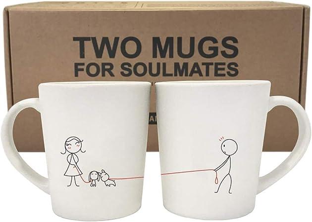 Love Ties Us Together Couples Mugs