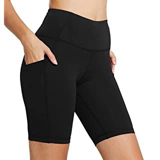 FIRM ABS Womens Yoga Short Pants Exercise Workout Running Shorts Black XL