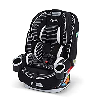Graco 4Ever 4-in-1 Car Seat gives you 10 years with one car seat. It's comfortable for your child and convenient for you as it transitions from rear-facing infant car seat (4-40 lbs.) to forward-facing 5-point harness seat (22–65 lbs.) to high-back b...