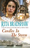 Front cover for the book Candles in the Storm by Rita Bradshaw