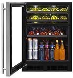 Marvel ML24WBG1LS Dual Zone Wine and Beverage Cooler