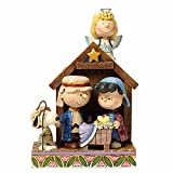 Jim Shore Peanuts Christmas Pageant Figurine Sculpture