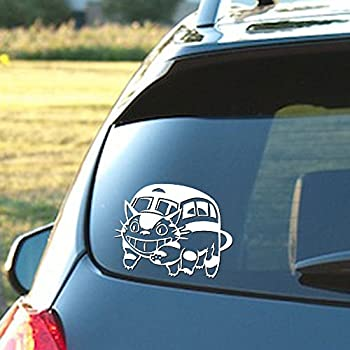 Amazoncom Princess Ghibli Mononoke Tree Spirits Car Window Vinyl - Vinyl stickers for car windows