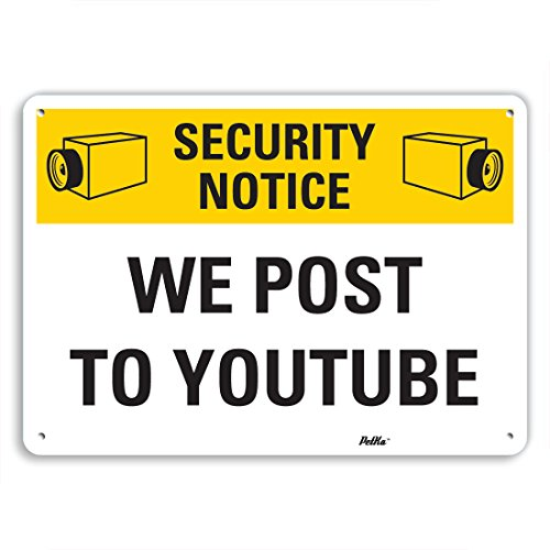 petka-signs-and-graphics-pkfo-0026-na-10x7-we-post-to-youtube-aluminum-sign-10-x-7