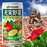 ITO EN enhance vegetables Okinawa limited bitter gourd mix 190gX30 cans