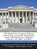 Crs Report for Congress, Valerie Bailey Grasso, 1293256617