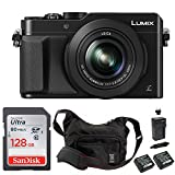 Cheap PANASONIC LUMIX LX100 (Black) 4K Point and Shoot Camera Professional Bundle