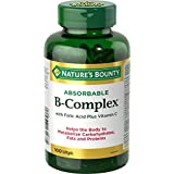 Nature's Bounty Super B-Complex with Folic Acid plus Vitamin C and Biotin 1