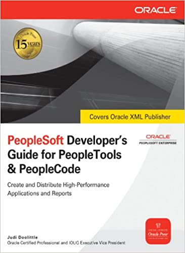 Lataa parhaiten myydyt ebookit ilmaiseksi PeopleSoft Developer's Guide for PeopleTools & PeopleCode (Oracle Press) B00164X312 by Judi Doolittle Suomeksi FB2