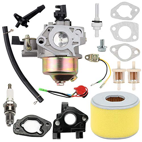 Honda Gx240 Carburetor - GX240 Carburetor Carb for Honda GX 240 8.0HP GX270 GX 270 9HP Engine Replaces #16100-ZE2-W71 16100-ZH9-W21 with Spark Plug Air Filter Tune Up Kits