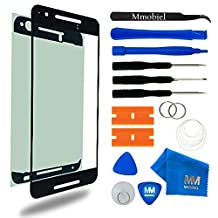 MMOBIEL Front Glass for Huawei Nexus 6P Series Black Display Touchscreen incl Tool Kit / Pre-cut Sticker / Tweezers/ Roll of 2mm Adhesive Tape / Suction Cup / Metal Wire / Microfiber cleaning cloth