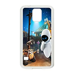 HRMB wall-e and eve wide Case Cover For samsung galaxy S5 Case