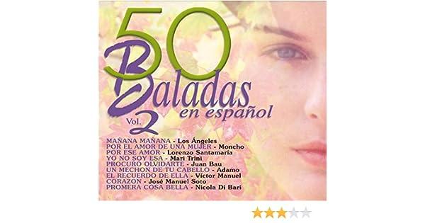 50 baladas en español vol.2: Varios: Amazon.es: Música