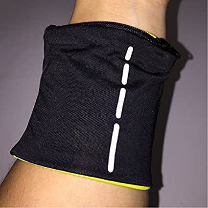 leveltech Wrist Sweatbands Sports Armband Wristbands For Football Basketball Running Athletic Sports With Zipper Pocket