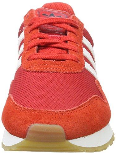 adidas Haven J, Zapatillas de Deporte Unisex Niños, Rojo (Rojo/Ftwbla/Ftwbla), 39 1/3 EU