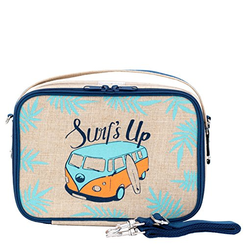YUMBOX lunch box (Blue) Surf's Up Design by - Yumbox Bag Lunch Box
