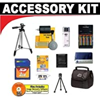 2GB DB ROTH Bonus Accessory Kit - for Canon Powershot S2 IS S3 IS S5 IS & SX100 IS Digital Cameras
