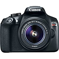 Canon EOS REBEL T6 DSLR Camera + Canon EF-S 18-55mm f/3.5-5.6 IS II Lens + Digital Camera Flash + 0.43X Wide Angle Lens + 2.2x Telephoto Lens -All Original Accessories Included - International Version from TriStateCamera