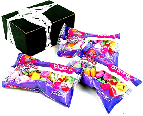 Brach's Heartlines Large Conversation Hearts, 8 oz Bags in a