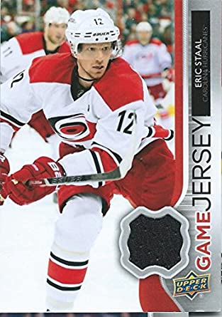 2b2c1c7dc Amazon.com  2014-15 Upper Deck Game Jerseys  GJ-ES Eric Staal NHL ...